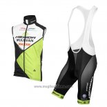 2016 Gilet Antivento Multivan Merida Verde e Bianco
