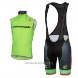 2017 Gilet Antivento Cannondale Verde
